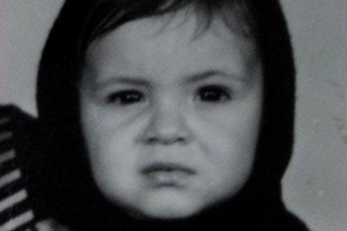 1975 – Com apenas 1 ano e meio de idade