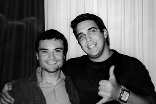 2003 – Quando estudou teatro e comunicação pela Art Studio do Brasil