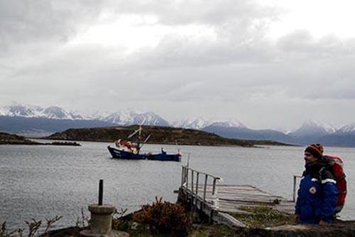 2013 – Em Cabo de Hornos – Chile, no extremo sul da América