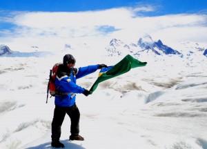 Henry Jenné Travessia de um glaciar ao longo do caminho livro 21 dias nos confins do mundo
