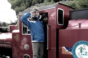 """Henry Jenné Trem do """"Fim do Mundo"""" na travessia do Parque Nacional da Terra do Fogo livro 21 dias nos confins do mundo"""