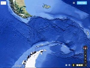 mapa extremo sul mais proximo antartida