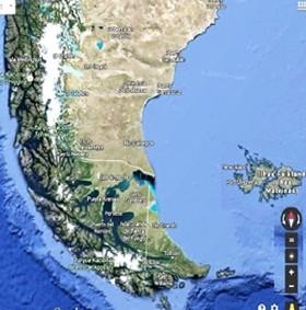 mapa do extremo sul final