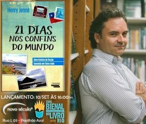 Venha para Bienal do Rio e confira o lançamento do meu livro no dia 10/09 às 16:00 horas