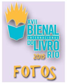 Fotos do lançamento do livro 21 Dias Nos Confins do Mundo do autor catarinense Henry Jenné Bienal Internacional do Livro do Rio 2015