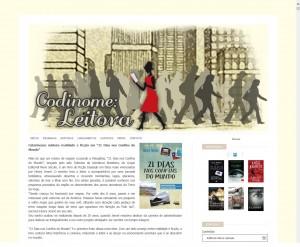 Codinome Leitora destaca o livro 21 Dias Nos Confins do Mundo do autor catarinense Henry Jenné, editora Novo Século