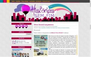 Histórias sem Fim destaca livro 21 Dias Nos Confins do Mundo do autor catarinense Henry Jenné editora Novo Século