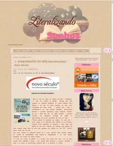 Blog Literalizando Sonhos destaca o livro 21 Dias Nos Confins do Mundo do autor catarinense Henry Jenné, editora Novo Século