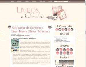 Livros e Chocolate destaca o livro 21 Dias Nos Confins do Mundo do autor catarinense Henry Jenné, editora Novo Século