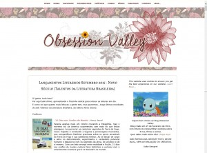 Obsession Valley destaca o livro 21 Dias Nos Confins do Mundo do autor catarinense Henry Jenné, editora Novo Século