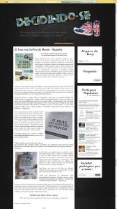 Resenha do livro 21 Dias Nos Confins do Mundo do autor catarinense Henry Jenné publicado pela editora Novo Seculo, resenha por decidindose.com