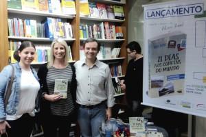 Lançamento Livro 21 Dias Nos Confins do Mundo, autor catarinense Henry Jenné, editora Novo Século e Livrarias Catarinense, Bal. Camboriú SC