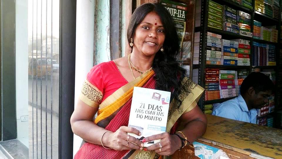 livro 21 Dias Nos Confins do Mundo do autor Henry Jenné na India editora novo século