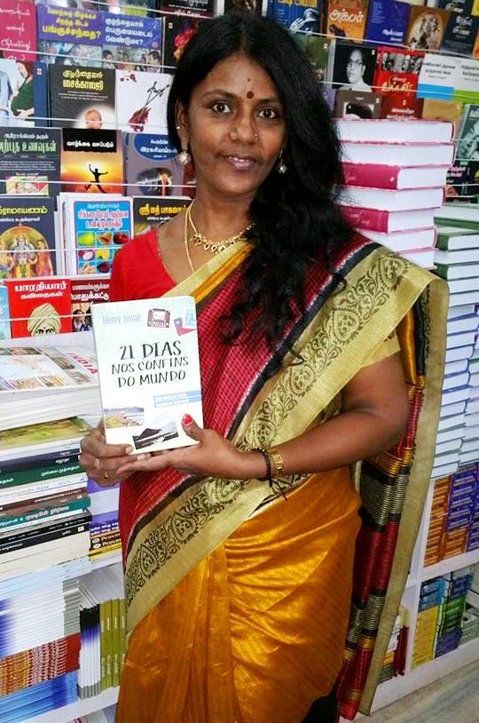 livro 21 Dias Nos Confins do Mundo do autor Henry Jenné na India