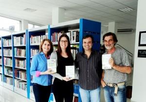 Visita do escritor Henry Jenné autor do livro 21 Dias Nos Confins do Mundo a Biblioteca Pública Municipal de Camboriú/SC