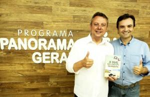 Entrevista TV Panorama com Gilberto Luz sobre livro 21 Dias Nos Confins do Mundo do autor: Henry Jenné