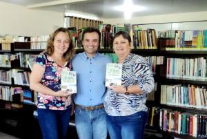 Visita do escritor Henry Jenné autor do livro 21 Dias Nos Confins do Mundo a Biblioteca da EBM Presidente Médici