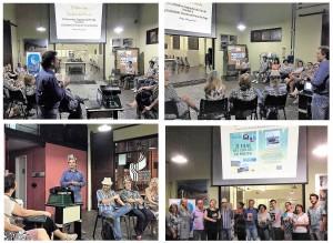 Apresentações do escritor Henry Jenné em Jaraguá do Sul na 60º Ciranda Literaria da cidade