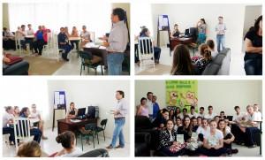 Apresentações do escritor Henry Jenné na cidade de José Boiteux SC projeto literário da escola José Clemente