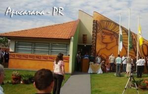 Biblioteca Pública Municipal do Estado do Paraná que recebeu exemplares do livro 21 Dias Nos Confins do Mundo