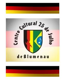 Visita do escritor Henry Jenné ao Clube Germânico 25 de Julho de Blumenau SC livro 21 Dias Nos Confins do Mundo
