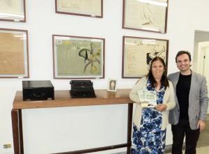 Visita do escritor Henry Jenné autor do livro 21 Dias Nos Confins do Mundo a Biblioteca Publica Paulo Sergio Duarte Milliet de São Paulo