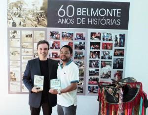 Visita do escritor Henry Jenné autor do livro 21 Dias Nos Confins do Mundo a Biblioteca Publica Belmonte