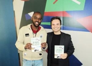 Visita do escritor Henry Jenné autor do livro 21 Dias Nos Confins do Mundo a Biblioteca Publica Cassiano Ricardo de São Paulo
