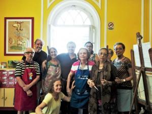 Visita do escritor henry jenné as bibliotecas do Rio de Janeiro biblioteca machado de assis