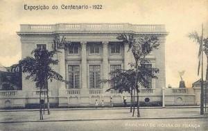 Visita do escritor Henry Jenné a Biblioteca  Academia Brasileira de Letras