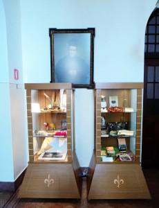 Peças ao longo do espaço do Mosteiro cedido à exposição literária