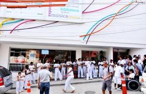Apresentação de Capoeira Biblioteca Parque da Rocinha