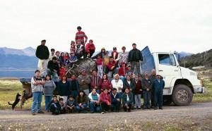 Pedra retirada da Baia Mejillones - Ilha Navarino - Cabo de Hornos (Chile), enviada à Washington D.C (EUA) para representar o Sul do Mundo no Museu do Índio Americano