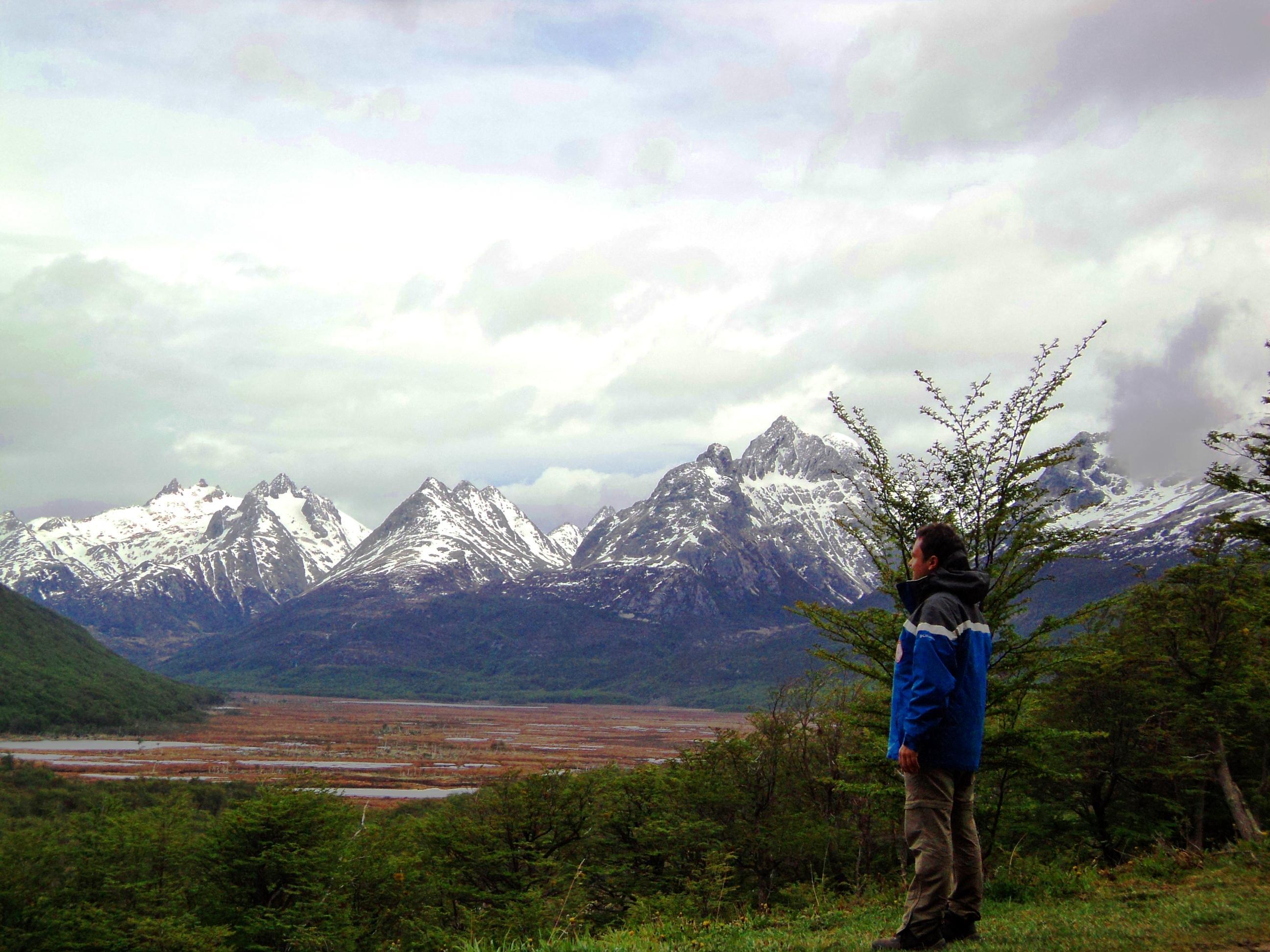 Cordilheira dos Andes no Extremo Sul da América
