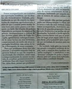 30 embargos projeçoes SANTA