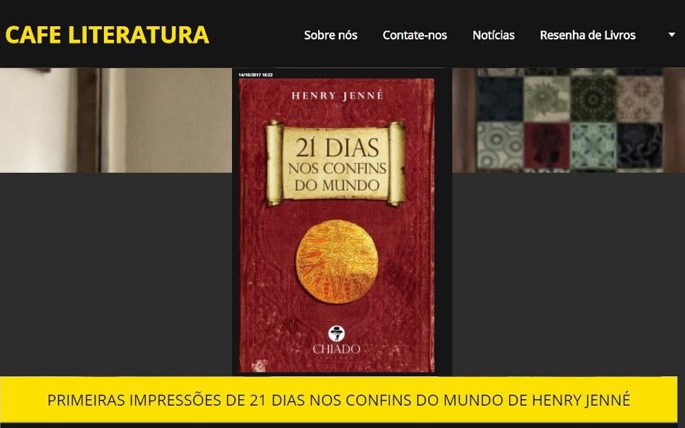 RESENHA CAFE LITERATURA