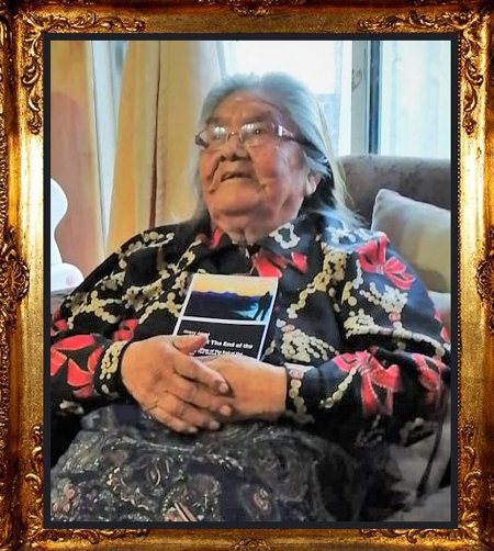 """Cristina Calderón – The last living full-blooded Yagán and the only remaining native speaker of the Yagán language. Abuela Cristina (as she is dearly called) inspired on of the main characters of the book """"21 Days at The End of The World""""."""